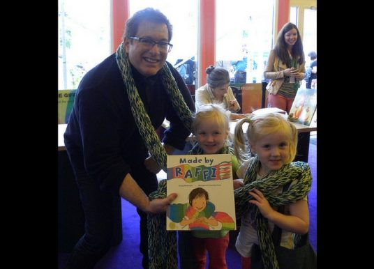 "Amygdala Magazine – Importance of Children's Books with Craig Pomranz author of ""Made by Raffi"""